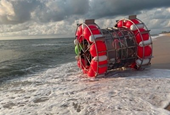 Guy Builds Gigantic Floating Hamster Wheel, Tries to Walk on Water from Florida to NYC