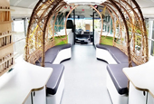 Mobile Food Lab Is a Refurbished Bus Designed to Educate Students on Healthy and Sustainable Eating