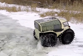 Super-Cool Amphibious Russian Vehicle Looks Like It Was Drawn By a Five-Year-Old