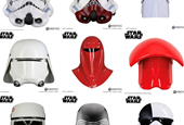 Design Expert Reviews Different Stormtrooper Helmets