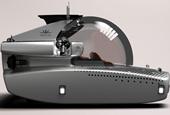 This $5.5 million personal submarine's transparent compartment seats 4 passengers for adventures und