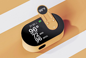 An all-in-one domestic kit to rapidly measure your body temperature and blood oxygen