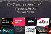 Get $3000+ worth of Fonts for Just $29 with This Spectacular Typography Set