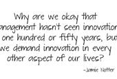 Is leadership an innovative endeavour?