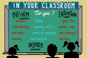 Does Your Classroom Inform, Inspire, and Entertain?