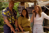 The Morning Watch: Dwayne Johnson and Emily Blunt Board 'Jungle Cruise', Exploring the Attraction Up
