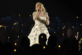 Carrie Underwood warns fans she 'might look a bit different' after 'gruesome' injury