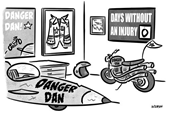 Danger is Actually His First Name (CARTOON)