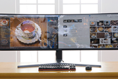 Samsung's Extra Wide Screen Shows How Two Monitors Can Make Your Small Business Better