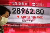 Stocks fall on Wall Street as earnings start to flow