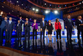Democrats focus on economy in opening stages of debate