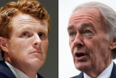 Rep. Joe Kennedy kicks off primary challenge against Sen. Ed Markey