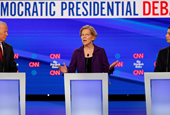 Warren comes under fire from 2020 Democratic rivals over 'Medicare for All'