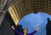 Elizabeth Warren, at Washington Sq. Park Rally, Promises to Take On Corruption