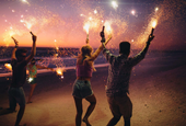 Fireworks Take the Backyard as Public Shows Cancel