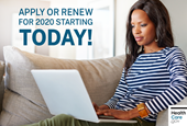 The 2020 Health Insurance Marketplace is open for business!