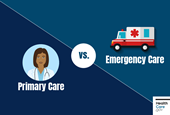 Understanding regular vs. emergency health care