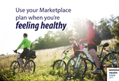 Using your Marketplace insurance when you're not sick