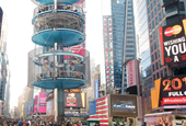 Is New York City's Times Square getting a park in the sky?