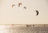 Along Brazil's northeast coast, a kitesurfin' safari