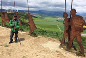 Friends join pilgrims from all over the world on Spain's Camino de Santiago