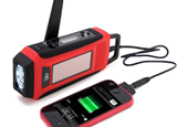 45% off Epica Emergency Solar Hand Crank AM/FM/NOAA Digital Radio, Flashlight, Cell Phone Charger -