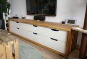 Long TV stand from IKEA Stolmen