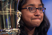 National Spelling Bee Winner Cements Victory With 'Marocain'