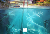 Travel Oregon Returns With Another Whimsical (and Slightly Exaggerated) Call to Visit