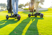 Who Needs Golf Carts When You Have a Cycleboard?