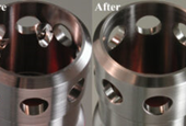 CNC Machining: Versatile, Flexible Honing Tool Used for Cross Hole Deburring and All Around the Shop