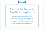 Here's Facebook's Full-Page NYT Ad About 'Protecting Our Community From Election Interference'