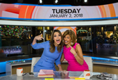Hoda Kotb Says 'Never Look Back,' Then Becomes Matt Lauer's Official Replacement