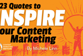 23 Quotes to Inspire Your Content Marketing and the Difference You Can Make