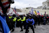 2 Capitol Police Officers Sue Trump For Injuries Sustained During Jan. 6 Riot