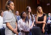 Watch Live: Gymnasts Recount FBI Mishandling Of Their Allegations About Larry Nasser