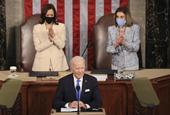 'Madam Speaker, Madam Vice President': Women Make History At Biden's Joint Address