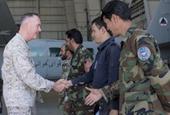 Meeting Afghan Airmen