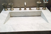 How to unclog a marble sink without damaging it