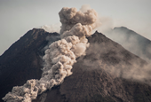 Indonesia's Most Active Volcano Erupts