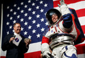 NASA's New Spacesuits Unveiled, for Trips to the Moon and Beyond