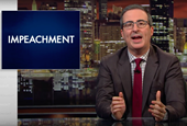 John Oliver Weighs the (Realistic) Risks and Benefits of Trump's Impeachment
