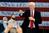Pence Keeps Campaigning After at Least Five People Close to Him Test Positive for Coronavirus