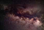 Arid meteor shower makes new appearance in southern hemisphere skies