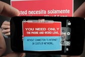 Word Lens Wows As Instant iPhone Translator