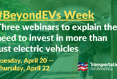 WATCH NOW: Going #BeyondEVs in three webinars, including one with Sec. Anthony Foxx