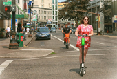 Focusing on the positives of dockless bikes and scooters