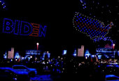 How Joe Biden's drone light show came together — and what it could mean for the industry