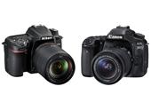 Nikon D7500 vs Canon EOS 80D