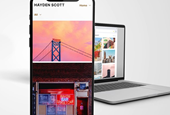 500px launches portfolio website service for Pro account members